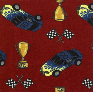 Checkered Flag Carpet