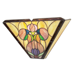 Mission Lotus Wall Sconce