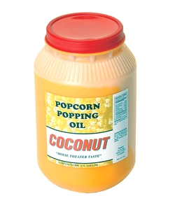Coconut Popcorn Popping Oil (One Gallon)