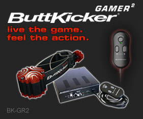 Buttkicker Gamer2 Kit