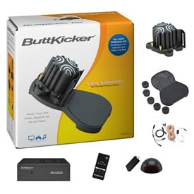 Wireless Buttkicker Kit