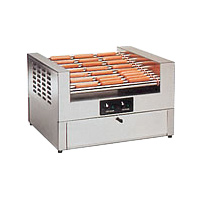14 Roller Hot Diggity Hot Dog Grill and Bun Cabinet