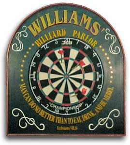 Personalized Billiard Parlor Sign Set