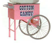 Pinkie Cotton Candy Floss Cart