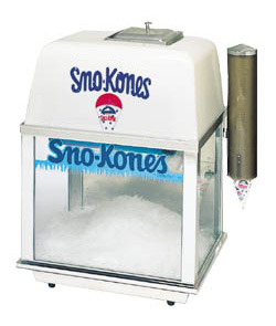 Bliz Whiz Snow Cone Machine