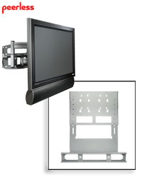 Multi-channel Speaker Mount for Flat Panel Mounts