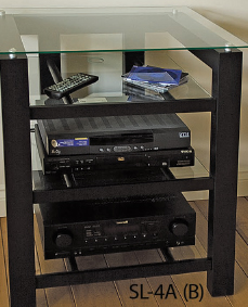 Plateau Four Shelf Audio Video Stand