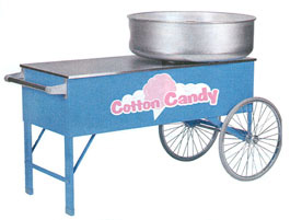 Two Wheel Cotton Candy Cart
