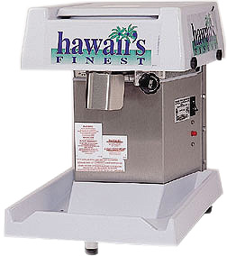 Hawaii's Finest Deluxe Shave Ice Machine