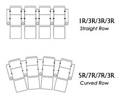Palliser Pacifico Row of Four Home Theater Seating