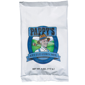 Pappy's Kettle Corn 4oz Portion Pack (Case of 48)