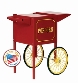Paragon Small Red Popcorn Cart