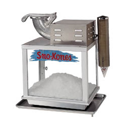 Sno-Konette Snow Cone Machine