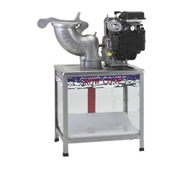 High Speed Gas Powered Snow Cone Machine and Kit