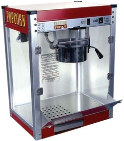 Theater Popcorn Machine with 6oz Kettle
