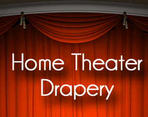 Home Theater Drapery Fabric Swatch