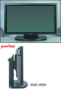 Flat Panel Tabletop Stand for 32in - 50in screens
