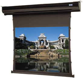 Dalite Tensioned Contour Electrol Square Screen