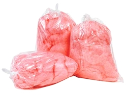 Cotton Candy Plastic Bags