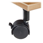 Dual Wheel Casters - Set of 4