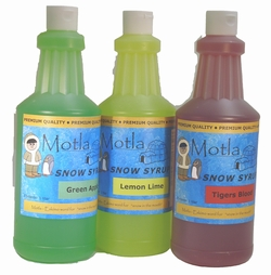 Molta Snow Syrup Variety Packs
