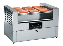 Hot Dog Grill and Bun Cabinet Combo