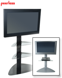 Peerless Flat Panel Stand for 32-65 in. Displays