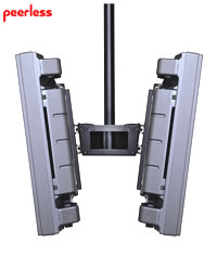 Flat Panel Dual Mount for 30-50 in. for Screens up to 300 lb
