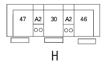 Brunswick Sectional Configuration H