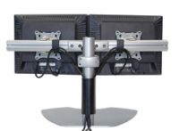 Dual Horizontal Table Stand Plasma TV Stand