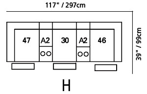 Shields Sectional Configuration H