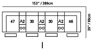 Shields Sectional Configuration I