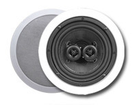 "Essence 6.5"" Kevlar In-Ceiling Speaker Dual Tweeters"