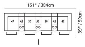 Regent Sectional Configuration I
