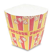 Theater Style Popcorn Tubs 85-170 Liquid oz