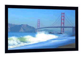 Cinema Contour Projection Screen Cinemascope 2:35 to 1