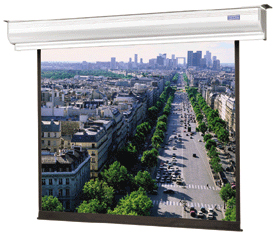 Dalite Contour Electrol 16:9 Projector Screen