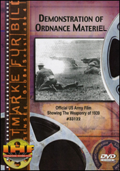 Demonstrations Of Ordnance Materiel,  Aberdeen Proving Grounds, Maryland  (USA, 1939) - www.ihfhilm.com