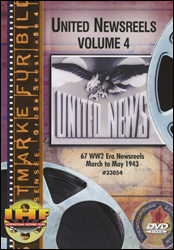 United Newsreels Volume 4 DVD - www.ihfhilm.com