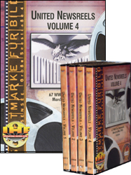United Newsreels 4 DVD Set<br> (Vol. 1 - Vol. 4) - www.ihfhilm.com