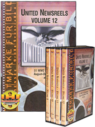 United Newsreels 4 DVD Set<br> (Vol 9 - Vol 12) - www.ihfhilm.com
