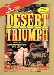 Desert Triumph - The Complete Story Of Operation Desert Storm 1990-1991(DVD) - www.ihfhilm.com