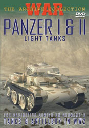 Panzer I & II Light Tanks DVD - www.ihfhilm.com