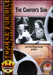 The Cantor's Son DVD - www.ihfhilm.com