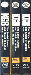 KGB The Soviet Sword & Shield Of Action (Parts 1-3) (VHS Tape) - www.ihfhilm.com