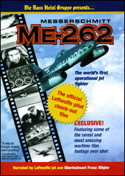 Messerschmitt ME-262: The Official Luftwaffe Pilot Check-Out Film (DVD) - www.ihfhilm.com
