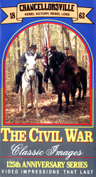 The Civil War : Chancellorsville : Rebel Victory, Rebel Loss, 1863 (VHS Tape) - www.ihfhilm.com