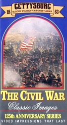 The Civil War : Gettysburg :Bloody Standoff In Pennsylvania,1863 (VHS Tape) - www.ihfhilm.com