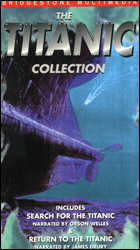 Titanic Collection: Search for the Titanic & Return to the Titanic  (VHS Tape) - www.ihfhilm.com