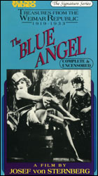 Blue Angel  (VHS Tape) - www.ihfhilm.com